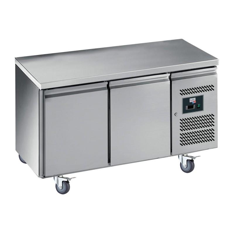 L2G - Table réfrigérée centrale 2 portes GN 1/1, prof. 700