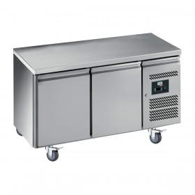 CHR-AVENUE - Table réfrigérée 2 portes, prof. 600