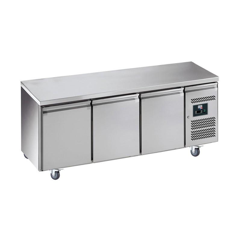 L2G - Table réfrigérée centrale 3 portes GN 1/1, prof. 700 GN3100TN