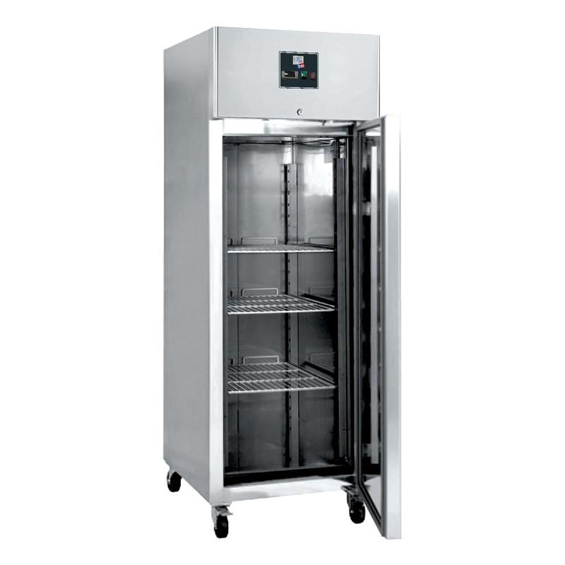 L2G - Armoire réfrigérée négative inox, 1 porte pleine 650 L