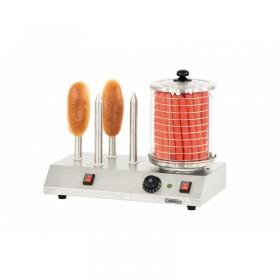 CASSELIN - Appareil à hot-dog électrique, 4 plots chauffants pour pain