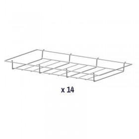 AIR'T - Kit de 14 grilles fil paniers GP530