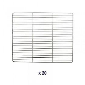 AIR'T - Kit de 20 grilles fil GN 1/1