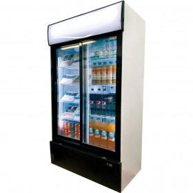 SEDA - Vitrine réfrigérée 2 portes coulissantes 750 L
