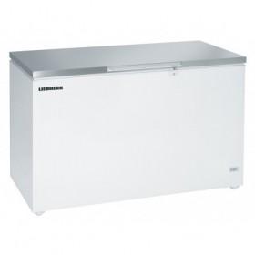 LIEBHERR - Congélateur coffre statique 485 litres - époxy blanc
