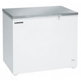 LIEBHERR - Congélateur coffre statique 299 litres couvercle inox
