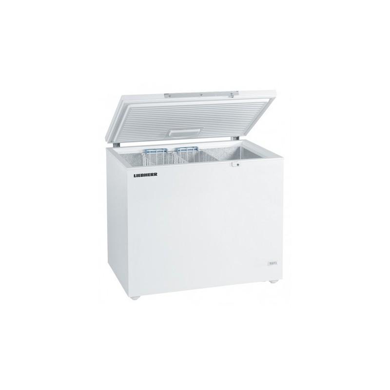 LIEBHERR - Congélateur coffre statique 299 litres époxy blanc