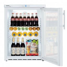 LIEBHERR - Armoire frigorifique de stockage blanche, 141 L, porte vitrée - FKUV1613