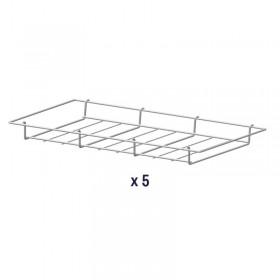 AIR'T - Kit de 5 grilles fil paniers GP530