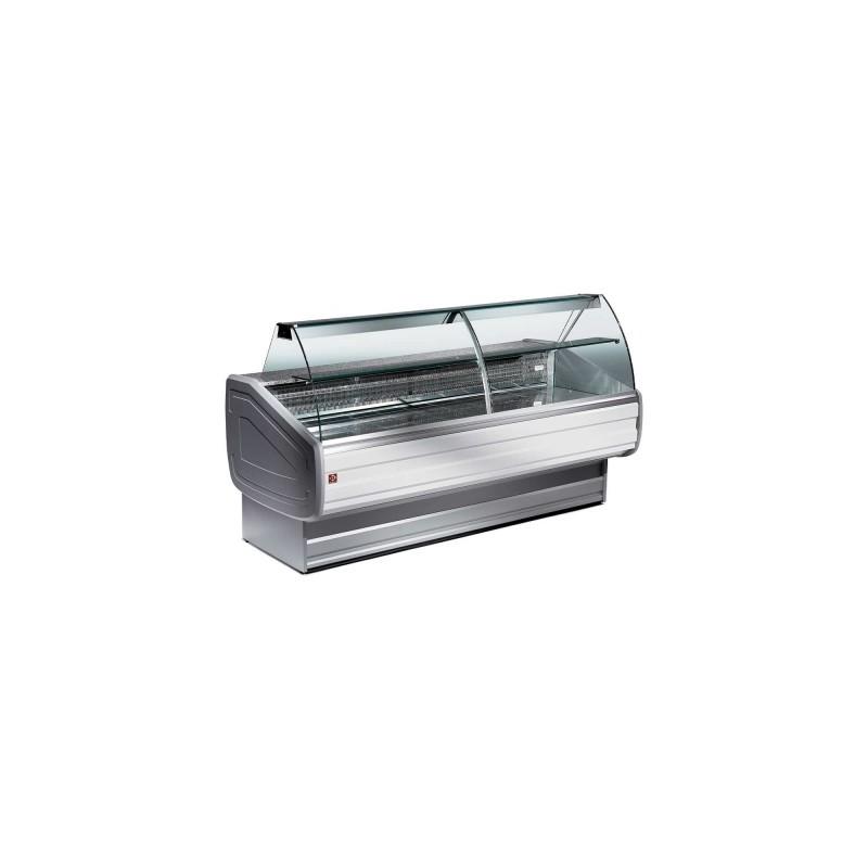 DIAMOND - vitrine réfrigérée froid statique avec réserve - Mélody Plus