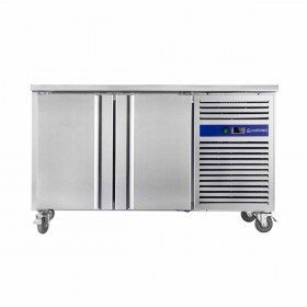 CUISTANCE - Table réfrigérée centrale 2 portes GN 1/1 P. 700 mm