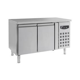 Table réfrigérée centrale, série 700 - 2 portes