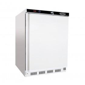 COMBISTEEL - Armoire réfrigérée blanche, 1 porte pleine