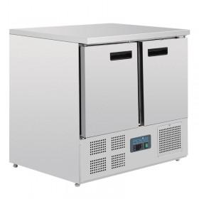 Table réfrigérée positive 2 portes 240L - compacte - U636