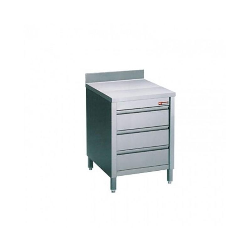 Diamond - Table sur Armoire avec tiroirs