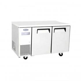 ATOSA - Table froide négative compacte avec dosseret 700 mm