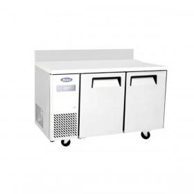 ATOSA - Table froide négative compacte 2 portes avec dosseret