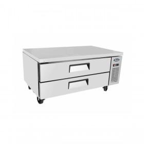 ATOSA - Soubassement réfrigéré 2 tiroirs 215 L