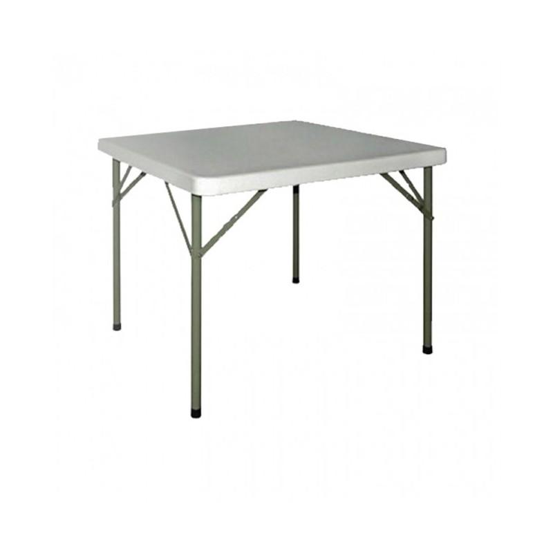 CHR AVENUE - Table de réunion carrée, en polyéthylène