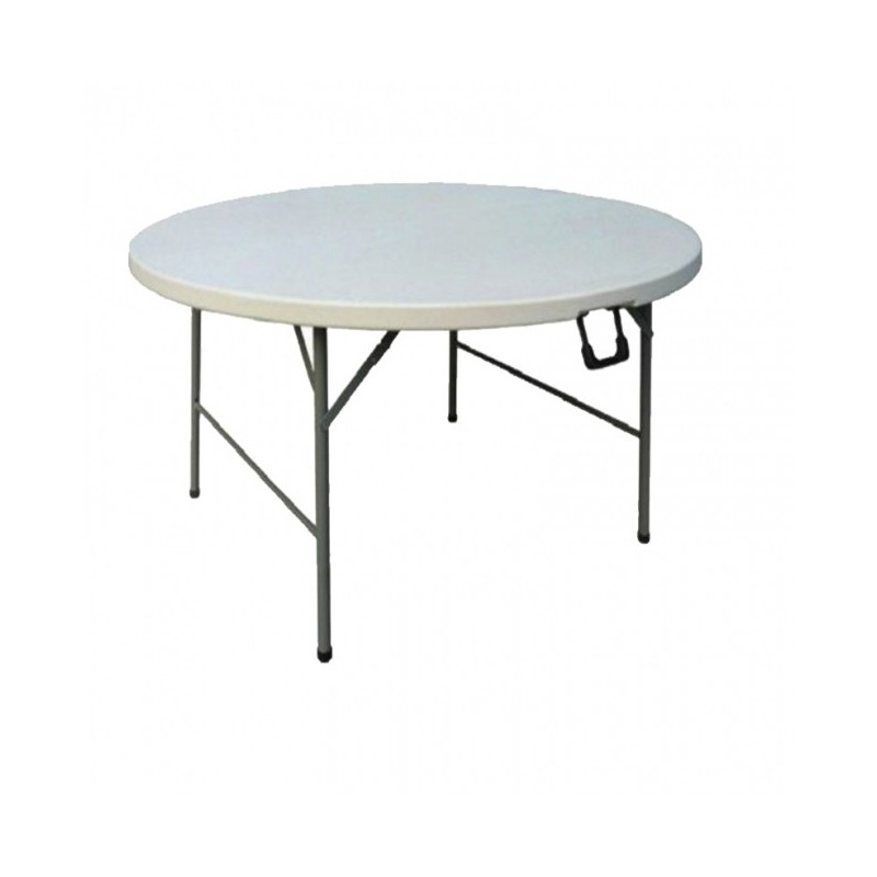 CHR AVENUE - Table de réunion ronde, en polyéthylène