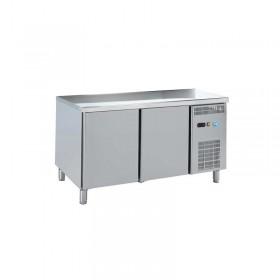 DAP - Table réfrigérée centrale 2 portes P. 700 mm