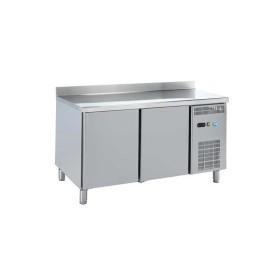 DAP - Table réfrigérée adossée 2 portes P. 700 mm