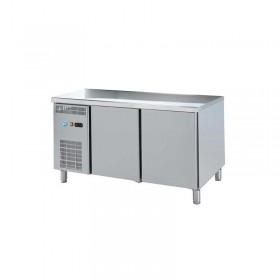 DAP - Table réfrigérée centrale 2 portes P. 700 mm groupe à gauche
