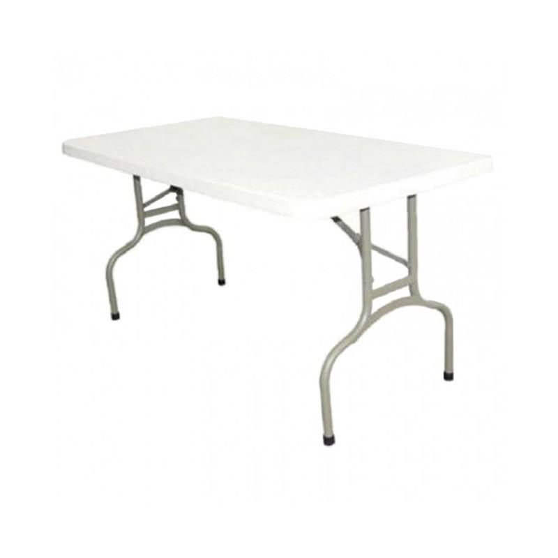 CHR AVENUE - Table de réunion large, en polyéthylène, au choix