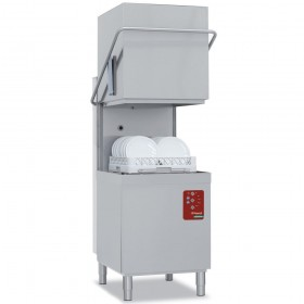 DIAMOND - Lave-vaisselle à capot 15 L désinfection thermique et adoucisseur
