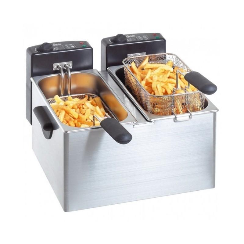 BARTSCHER - Friteuse* électrique double MINI III - 2 x 4 L