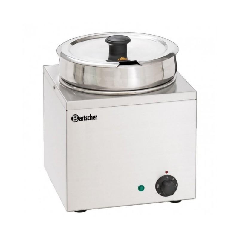 BARTSCHER - Bain-Marie Hotpot - Inox - 1 pot à 6.5 L - de 0 à 95 °C