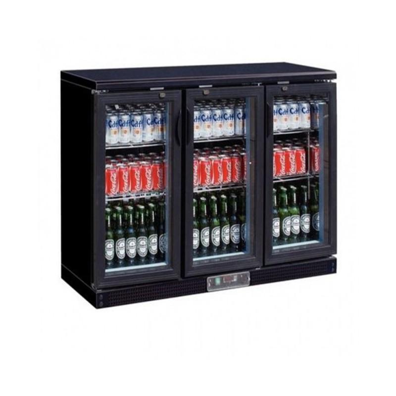 CHR-AVENUE - Arrière bar réfrigéré 335 L, 3 portes battantes