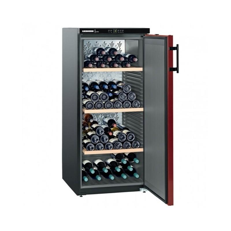 LIEBHERR - Cave à vin 164 bouteilles porte pleine