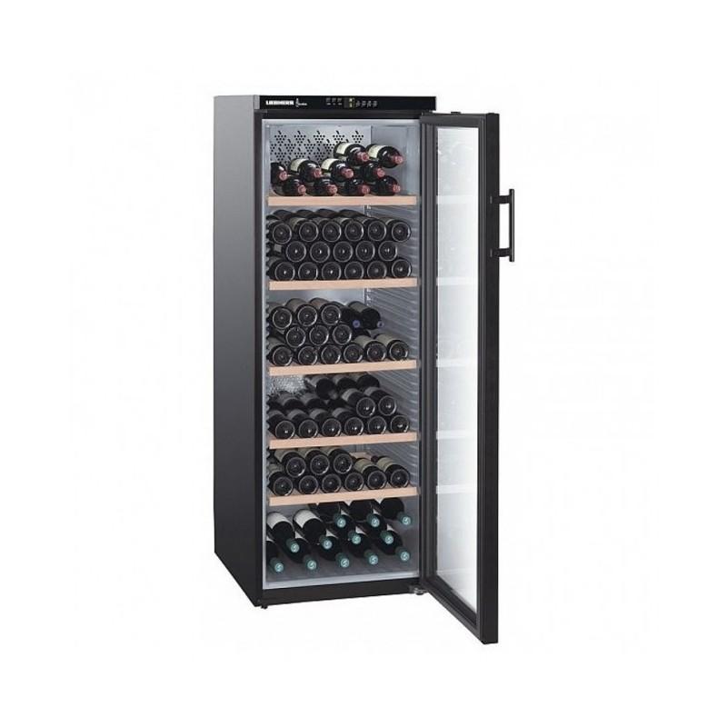 LIEBHERR - Cave à vin 200 bouteilles porte vitrée