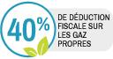 Label sur la déduction fiscale des gaz propres