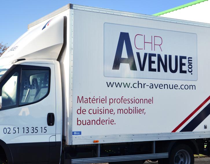 Camion CHR-Avenue livraison matériel professionnel